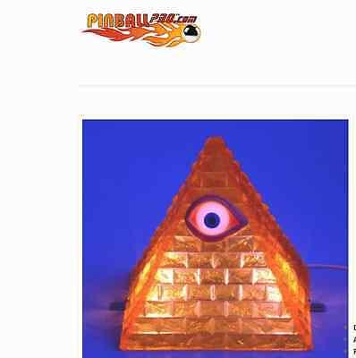 Twilight Zone Pyramid Topper Accessory by Pinball Pro Machine TZ Williams Bally