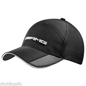 Mercedes benz amg baseball cap for men black genuine mb for Mercedes benz baseball caps