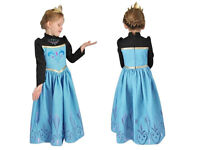Disney Frozen Elsa Coronation (black) fancy dress costume for 7-8 years. Excellent condition, cotton