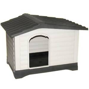 Waterproof Outdoor XXL Large Plastic Dog Kennel Pet Puppy House