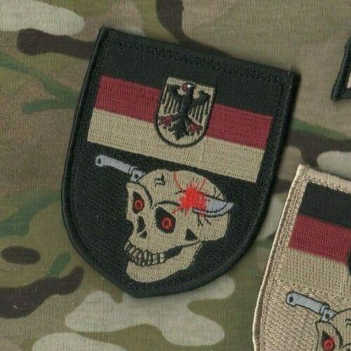 NATO ISAF JSOC KSK SP OPS VeIcrô German Flag TOTENKOPF SKULL Helmand Afghanistan