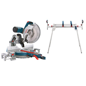 "Bosch 12"" dual compound sliding mightier saw"