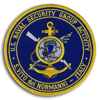US Navy NSGA San Vito Italy US Naval Security Group Activity NAVSECGRUACT