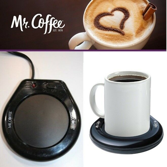 Electric Coffee Mug Warmer Tea Cup Heater Beverage Heating P