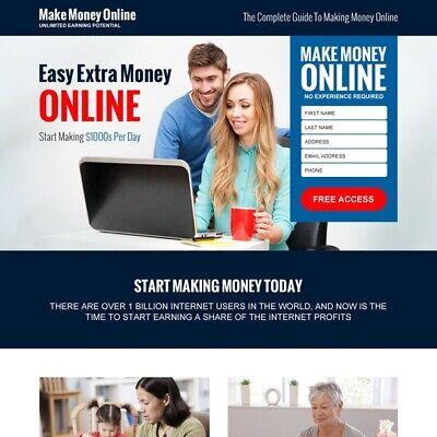 Work At Home Ics Turnkey Internet Business Website 4 Sale Make Money Fast