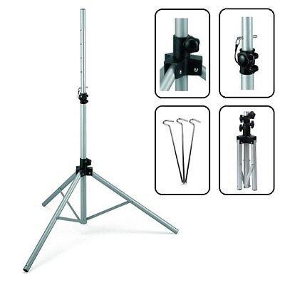 Dreibein Stativ 150cm sehr Stabil leicht für Camping SAT Schüssel Balkon