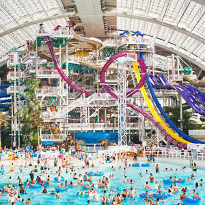 West Edmonton Mall (WEM) Waterpark Passes Saturday June 18