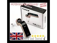 G7 Bluetooth Car Kit Handsfree FM transmitter Radio MP3 Player USB Charger + Free Delivery