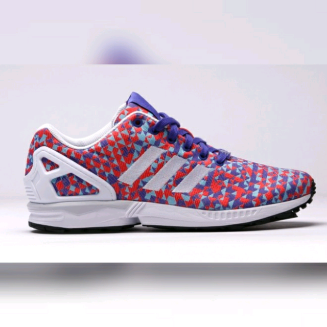 buy popular 8d2dc 13900 Mens Adidas Zx Flux Blue-red prism (Size 10)
