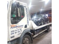 Cheap Day & Night 24/7 Recovery Breakdown Recovery Accident Recovery Transportation Services