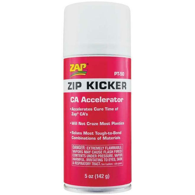 The Install Bay PT-50 Zip Kicker CA Glue Adhesive Accelerator Aerosol 5 Ounces