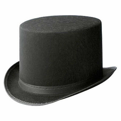 Adult TOP HAT Dance Costume Accessory Felt Theatre Halloween Pageant LRG QUAN!