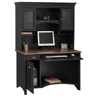 Blackcherry Computer Desk Hutch Home Office Furniture Student Workstation Study
