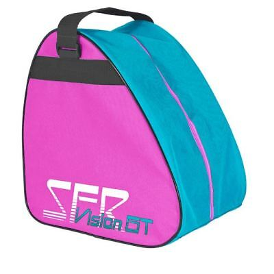 SFR Vision GT Skate/Quad/Roller Derby/Ice Skate/Figure/Hockey Bag - Pink/Blue