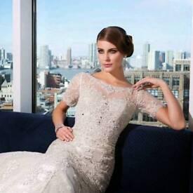 Justin Alexander 9730 wedding dress size 8 originally bought for just under 2500!