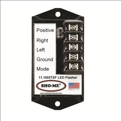 Sho-me Led Flasher - 7 Strobe Style Patterns-terminals-made In Usa