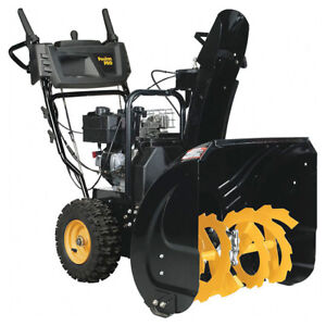 "Poulan PRO PR240 2-Stage Snowblower 24"" Black"