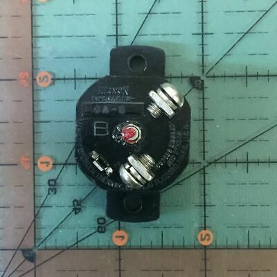 Klixon Aircraft Circuit Breaker Ca-10  Vintage 10a Nos