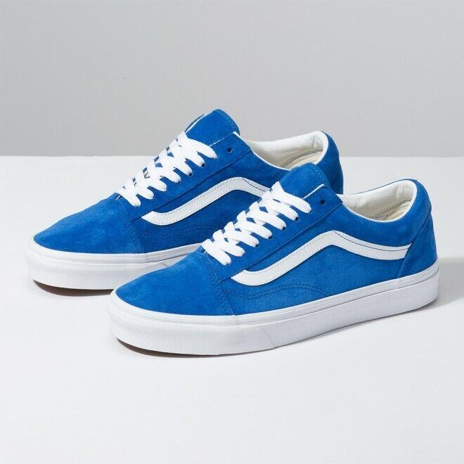 Details about VANS Pig Suede Old Skool Blue Shoes Sneakers VN0A4BV5V781