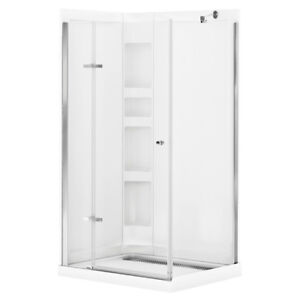 New acrylic shower wall set from Maax