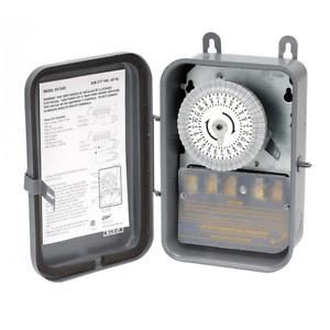 Minuterie extérieure Woods 59104R 208-277 volts, 40 amps