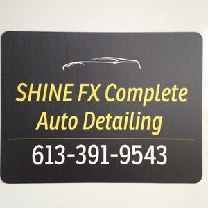 AUTO DETAILING by SHINE FX  starting at $155 and up.