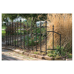 """Grapevine"" wrought iron fencing from Rona"