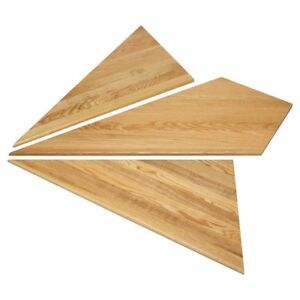 """Marches d'angle, 42""""  -  Angled stair tread, 42''"""