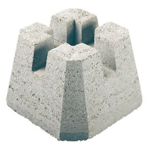 Deck Blocks - concrete