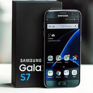 SAMSUNG GALAXY S7 BLACK GOLD 32GB UNLOCKED SMARTPHONE