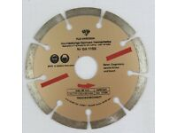 German High Quality Diamond discs 115mm for stone, concrete, clinker, granite building materials
