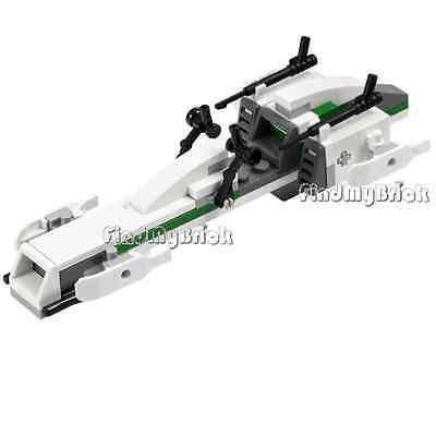 Lego Star Wars Clone Trooper BARC Speeder Bike Only (No Minifig No Box) 7913 NEW ()