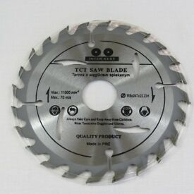 115 125 - 24T, 115 125 - 40T TCT SAW BLADE FOR WOOD AND PLASTIC Angle Grinder circular