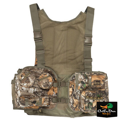 NEW BANDED GEAR TURKEY SERIES HUNTING VEST REALTREE EDGE CAMO MEDIUM / LARGE