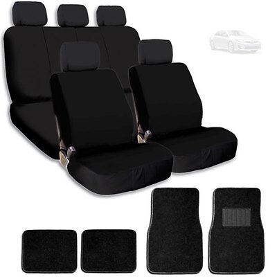 For Toyota New Fabric Semi Custom Car Seat Covers Mat Split Rear Seat