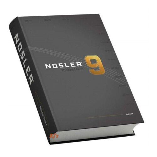 Nosler Reloading Manual #9 Hardcover New #50009 FREE SHIP!!