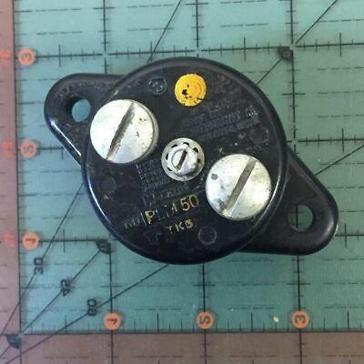 Klixon Aircraft Circuit Breaker Plm-50 43a8305-50 Vintage 50a 50 Amps Avionics