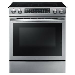 Samsung Slide-in Electric Range Dual Convection System
