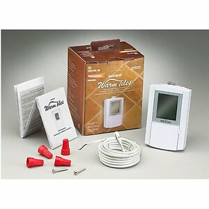EasyHeat Programmable Thermostat FGS, Dual Voltage 120/240V