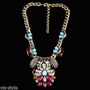 Statement-Bohemia-Collar-Cadena-cadena-Vintage-Cristal-Perla-blogger