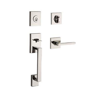 Baldwin Locks (Baldwin SCLAJxSQUCSR La Jolla Handleset Square Lever Contemporary Entrance lock)
