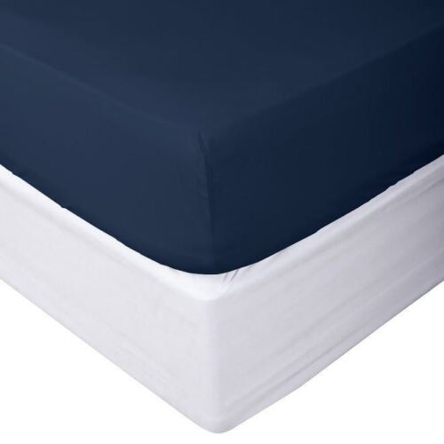 1800 Count Fitted Sheet Fits Deep Pocket Mattresses Full Elastic Around -Soft!