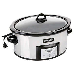 Programmable Slow Cooker - Crock-Pot - Stainless Steel