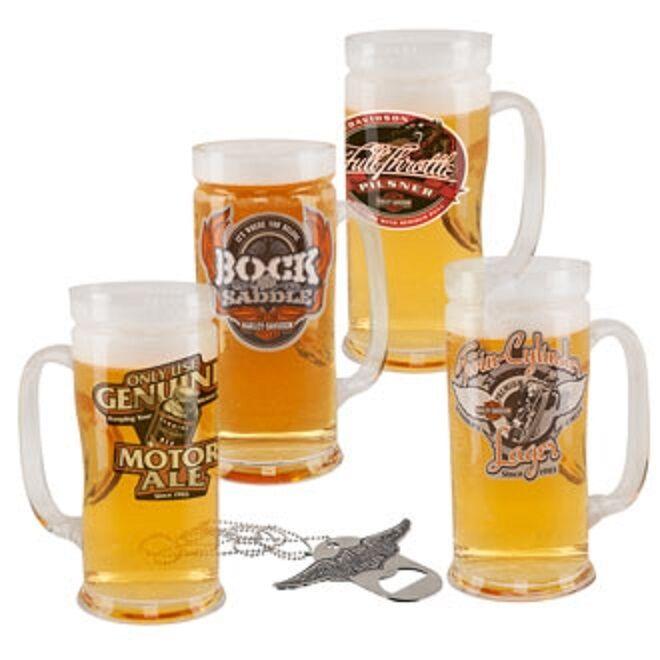 H-D® Harley Davidson Roadhouse Brew Pub Mug Set Same Day Shipping