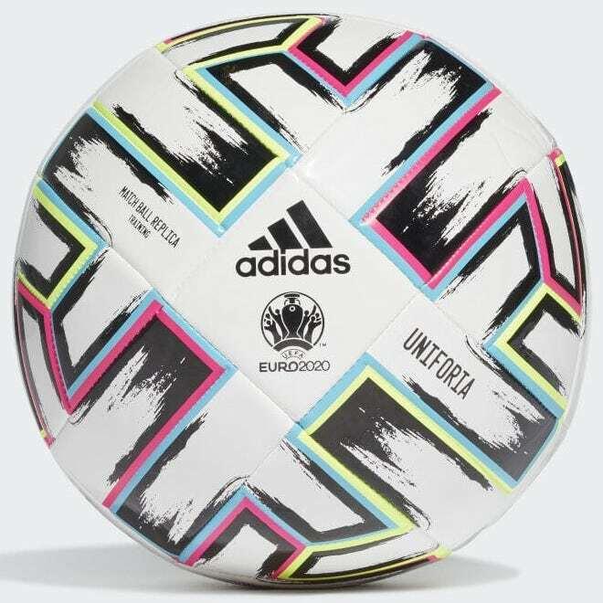 adidas 2020 Uniforia Training Ball - White-Black