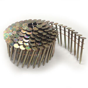 1-3/4 in. x 0.120 Electro-Galvanized Coil Roofing Nails 7,200pc