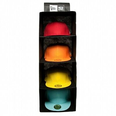New Era Cap Four Level Storage Rack/Rail System - Store & Protect 20 Hats