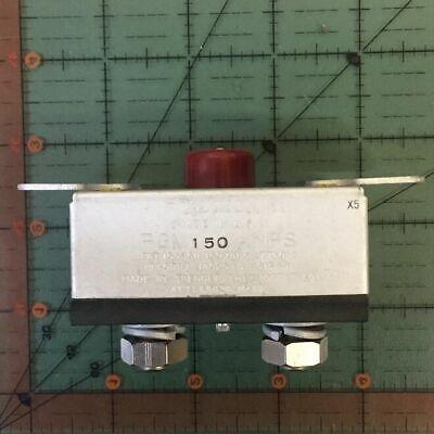 Klixon Aircraft Circuit Breaker Pgm 150 Vintage 150a Nos Free Shipping