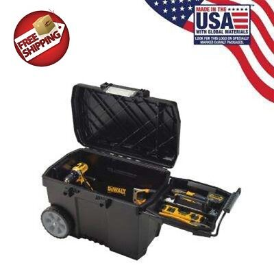 Apparatus Chest With Wheels Waterproof Rolling Portable Workbench Storage Box Wheeled