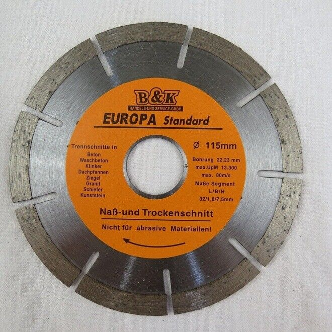 115 mm Diamond Wheel for clinker granite hard